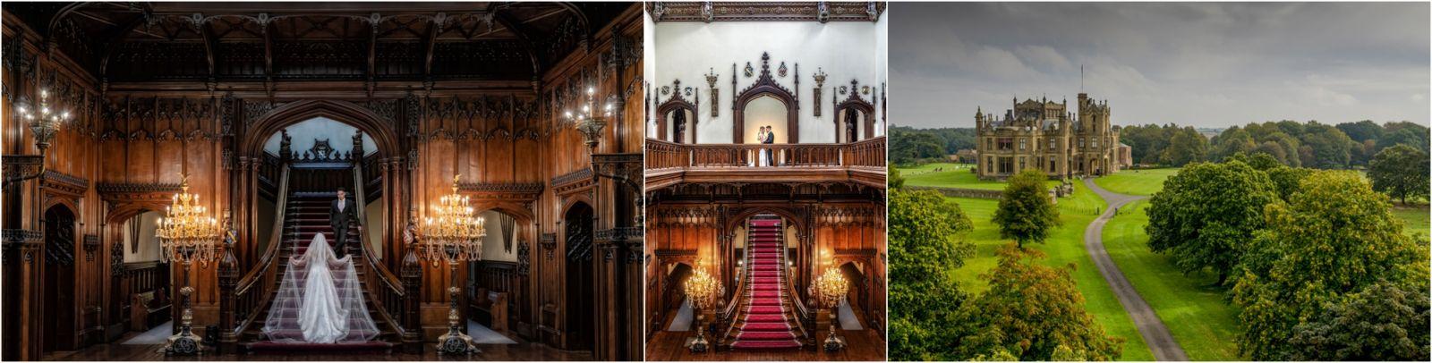 Allerton Castle Luxury Castle wedding photography workshop