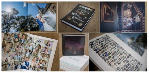 Wedding albums, wedding photography training courses