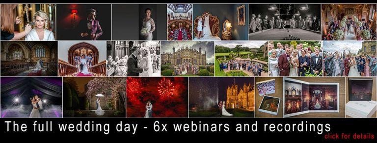 Wedding day webinar training